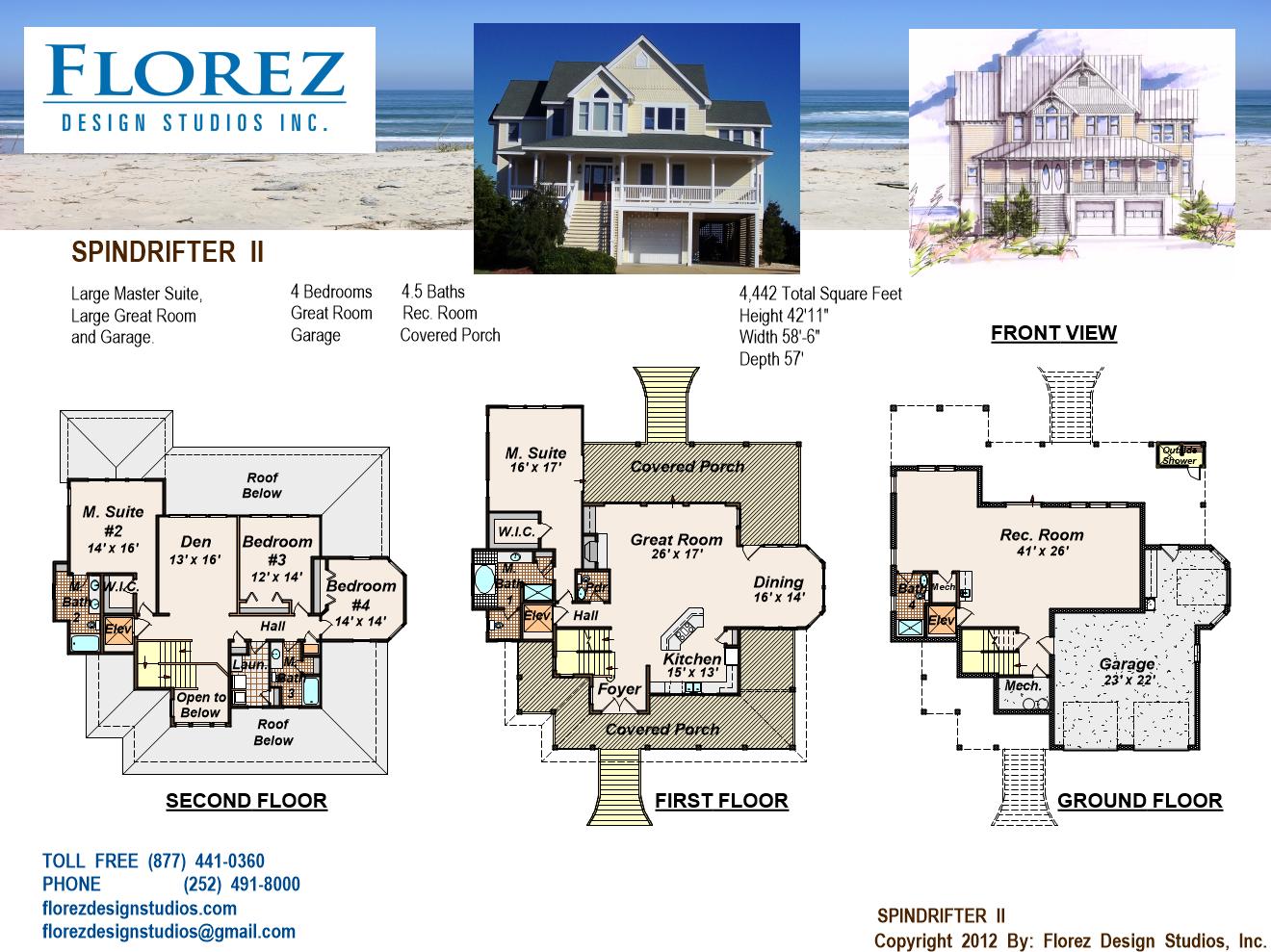 House design obx florez design studios for North carolina home plans