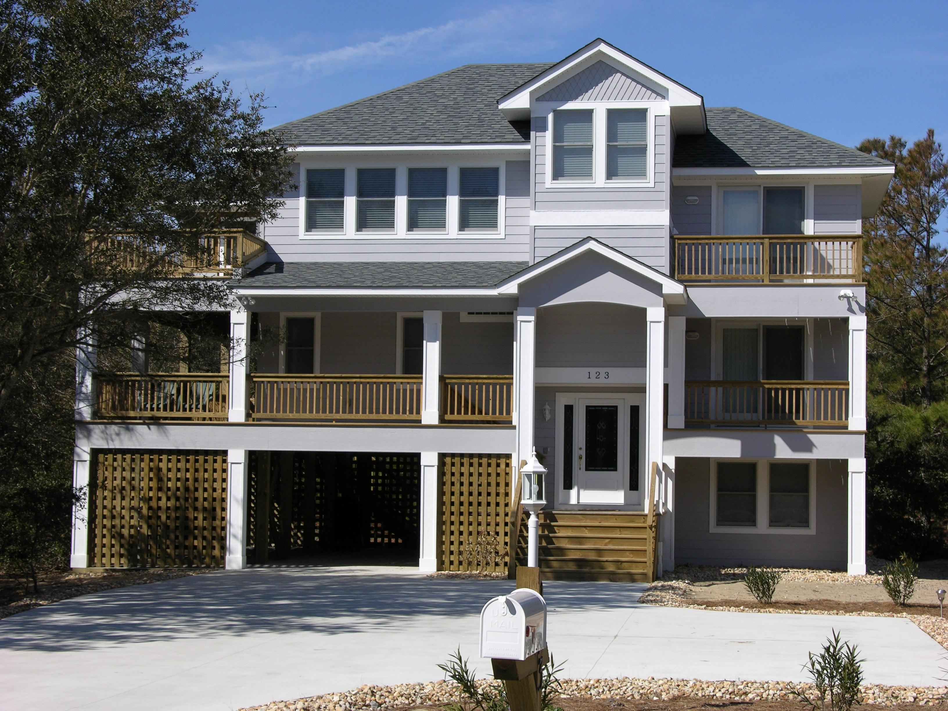 Florez Design Studios House Plans Coastal Home Design