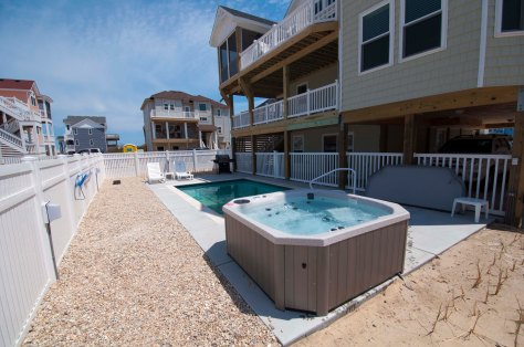 Pool Amenities / For More Info on vacationing in this home Visit:http://www.carolinadesigns.com/corolla-vacation-rental/480-ten-tan-toes/