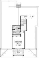 Sea ShacK Second Floor Plan