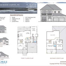 The Bavier | House Plan