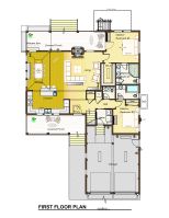 The Cline First Floor Plan