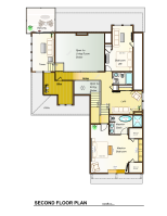 The Cline Second Floor Plan