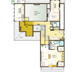 The Cline Second Floor Plan