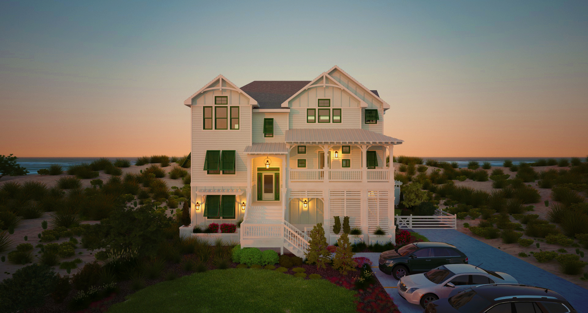 Attirant Florez Design Studios | House Plans/Coastal Home Design/OBX House ...